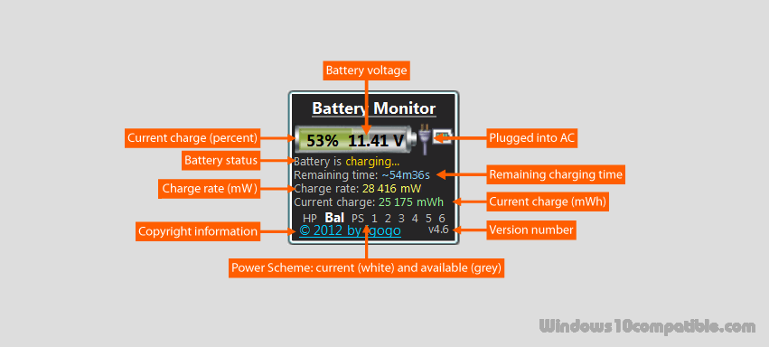Battery Monitor 6 2 Free download